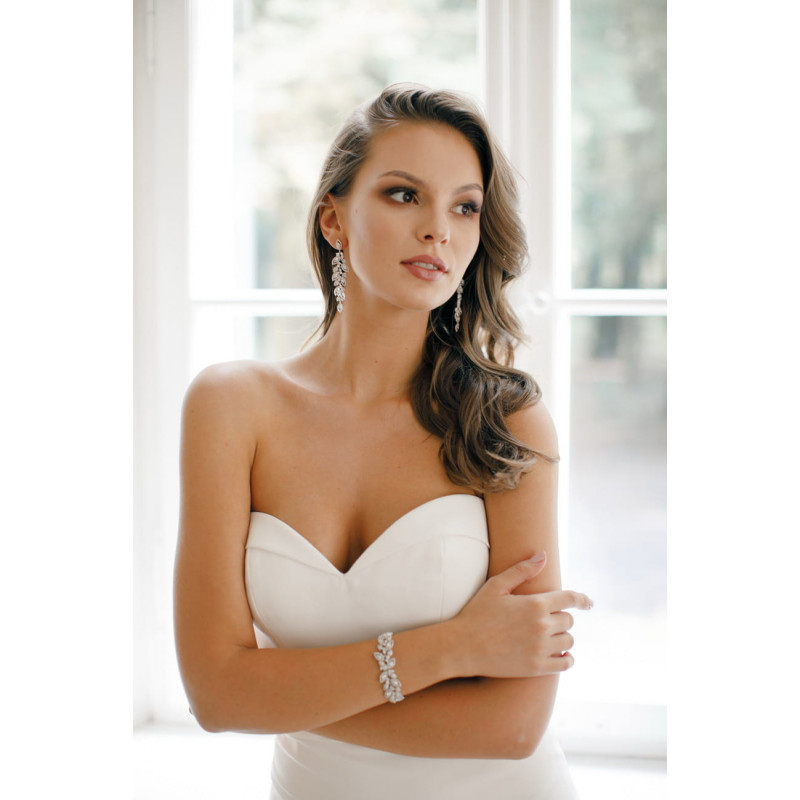 Bransoletka ELVIA SILVER 17.5cm