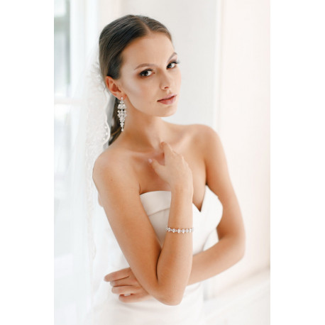 Bransoletka FELICIA SILVER 18cm
