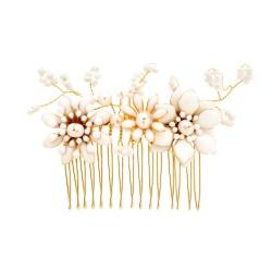 Grzebyk GOLDEN FLOWERS